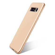 Coque Ultra Fine Silicone Souple Housse Etui S05 pour Samsung Galaxy Note 8 Or