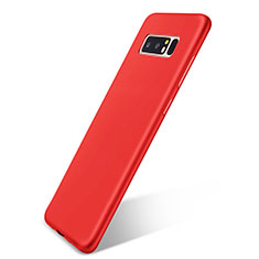 Coque Ultra Fine Silicone Souple Housse Etui S05 pour Samsung Galaxy Note 8 Rouge