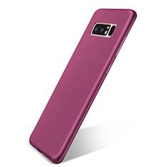 Coque Ultra Fine Silicone Souple Housse Etui S05 pour Samsung Galaxy Note 8 Violet