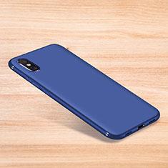Coque Ultra Fine Silicone Souple Housse Etui S06 pour Xiaomi Mi 8 Pro Global Version Bleu