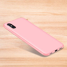 Coque Ultra Fine Silicone Souple Housse Etui S06 pour Xiaomi Mi 8 Pro Global Version Rose