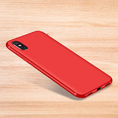 Coque Ultra Fine Silicone Souple Housse Etui S06 pour Xiaomi Mi 8 Pro Global Version Rouge
