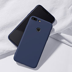 Coque Ultra Fine Silicone Souple Housse Etui S07 pour Huawei Honor 9 Lite Bleu