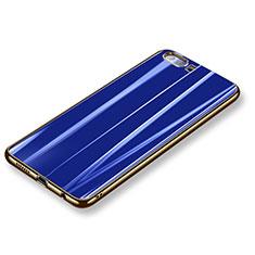Coque Ultra Fine Silicone Souple Housse Etui S11 pour Huawei Honor 9 Premium Bleu