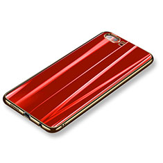 Coque Ultra Fine Silicone Souple Housse Etui S11 pour Huawei Honor 9 Rouge