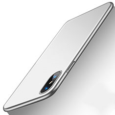 Coque Ultra Fine Silicone Souple Housse Etui S18 pour Apple iPhone Xs Argent