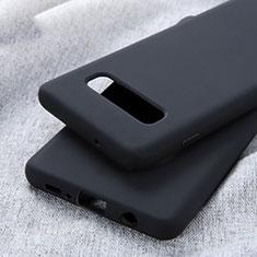Coque Ultra Fine Silicone Souple Housse Etui U01 pour Samsung Galaxy S10 Plus Noir