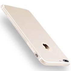 Coque Ultra Fine Silicone Souple Housse Etui Z15 pour Apple iPhone 7 Plus Blanc