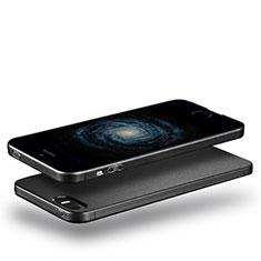 Coque Ultra Fine Silicone Souple pour Apple iPhone 5S Noir