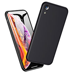 Coque Ultra Fine Silicone Souple pour Apple iPhone XR Noir
