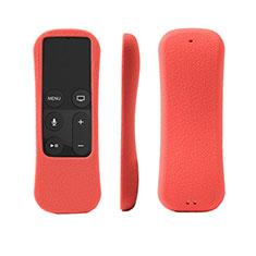 Coque Ultra Fine Silicone Souple pour Apple TV 4 Rouge