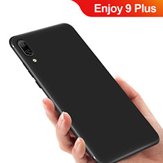 Coque Ultra Fine Silicone Souple pour Huawei Enjoy 9 Plus Noir