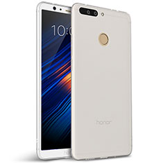 Coque Ultra Fine Silicone Souple pour Huawei Honor V9 Blanc