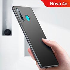 Coque Ultra Fine Silicone Souple pour Huawei Nova 4e Noir