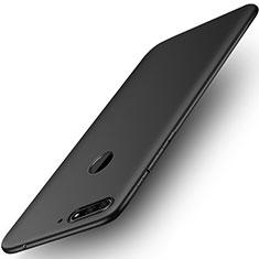 Coque Ultra Fine Silicone Souple pour Huawei Y6 Prime (2018) Noir
