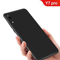 Coque Ultra Fine Silicone Souple pour Huawei Y7 Pro (2019) Noir