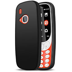Coque Ultra Fine Silicone Souple pour Nokia 3310 (2017) Noir