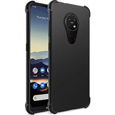 Coque Ultra Fine Silicone Souple pour Nokia 7.2 Noir