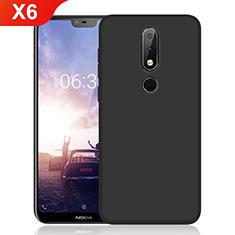 Coque Ultra Fine Silicone Souple pour Nokia X6 Noir