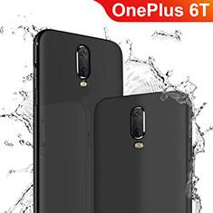 Coque Ultra Fine Silicone Souple pour OnePlus 6T Noir
