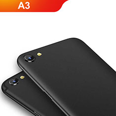 Coque Ultra Fine Silicone Souple pour Oppo A3 Noir