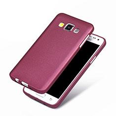 Coque Ultra Fine Silicone Souple pour Samsung Galaxy A3 Duos SM-A300F Violet