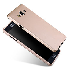 Coque Ultra Fine Silicone Souple pour Samsung Galaxy A7 Duos SM-A700F A700FD Or