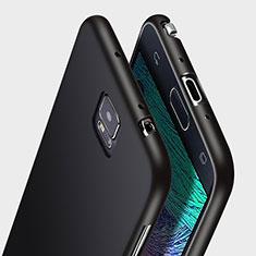 Coque Ultra Fine Silicone Souple pour Samsung Galaxy Note 4 Duos N9100 Dual SIM Noir