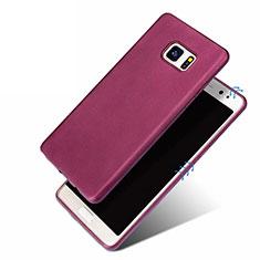 Coque Ultra Fine Silicone Souple pour Samsung Galaxy Note 7 Violet