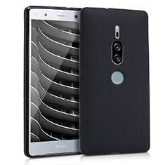 Coque Ultra Fine Silicone Souple pour Sony Xperia XZ2 Premium Noir