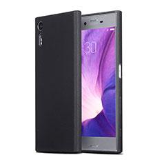 Coque Ultra Fine Silicone Souple pour Sony Xperia XZs Noir