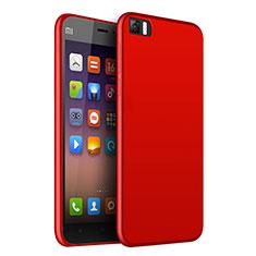 Coque Ultra Fine Silicone Souple pour Xiaomi Mi 3 Rouge