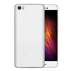 Coque Ultra Fine Silicone Souple pour Xiaomi Mi 5 Blanc