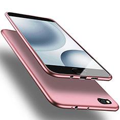 Coque Ultra Fine Silicone Souple pour Xiaomi Mi 5C Or Rose