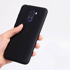 Coque Ultra Fine Silicone Souple pour Xiaomi Pocophone F1 Noir