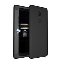 Coque Ultra Fine Silicone Souple pour Xiaomi Redmi Note 4X Noir