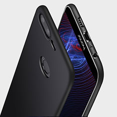 Coque Ultra Fine Silicone Souple Q03 pour Huawei Honor 9 Lite Noir