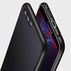 Coque Ultra Fine Silicone Souple Q04 pour Huawei Nova 2S Noir