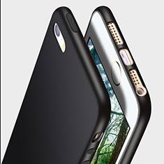 Coque Ultra Fine Silicone Souple R01 pour Apple iPhone 5S Noir