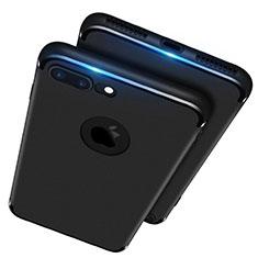 Coque Ultra Fine Silicone Souple R02 pour Apple iPhone 7 Plus Noir