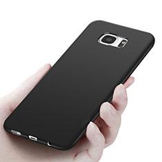 Coque Ultra Fine Silicone Souple R06 pour Samsung Galaxy S7 Edge G935F Noir
