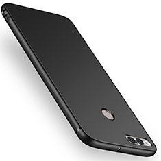 Coque Ultra Fine Silicone Souple S02 pour Huawei Honor 7X Noir