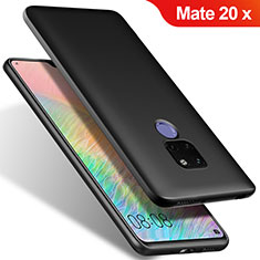 Coque Ultra Fine Silicone Souple S02 pour Huawei Mate 20 X 5G Noir