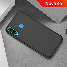 Coque Ultra Fine Silicone Souple S02 pour Huawei Nova 4e Noir