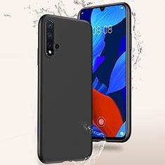 Coque Ultra Fine Silicone Souple S02 pour Huawei Nova 5 Pro Noir