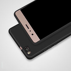Coque Ultra Fine Silicone Souple S02 pour Huawei P9 Lite Noir