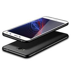 Coque Ultra Fine Silicone Souple S02 pour Huawei Y6 (2017) Noir