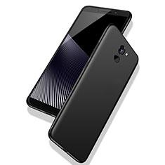 Coque Ultra Fine Silicone Souple S02 pour Huawei Y7 Prime Noir