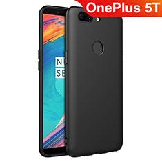 Coque Ultra Fine Silicone Souple S02 pour OnePlus 5T A5010 Noir