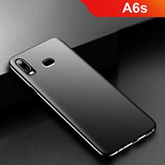 Coque Ultra Fine Silicone Souple S02 pour Samsung Galaxy A6s Noir